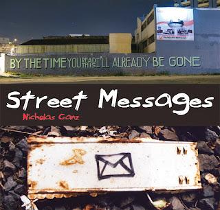Buch: Street Messages - Cover - Nicholas Ganz