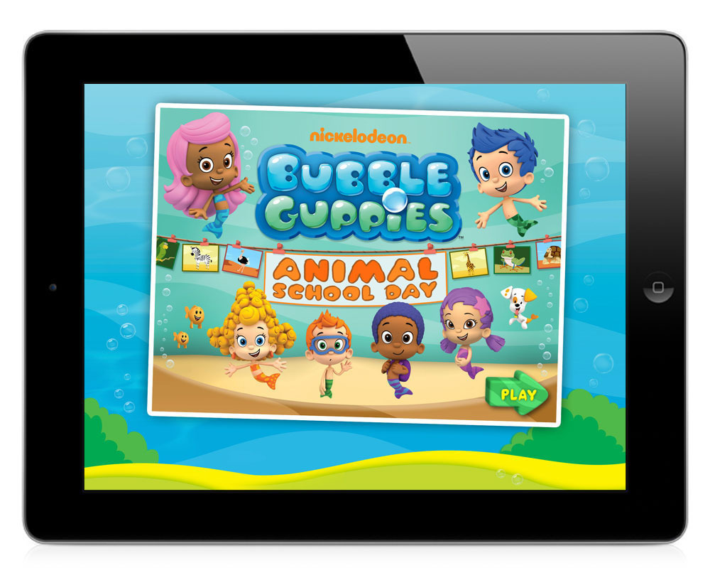 Bubble Guppies Animal School-Day