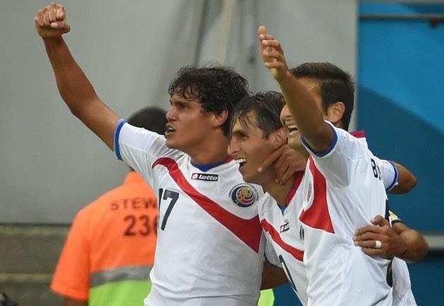 """FÚTBOL Mundial de Brasil-- Costa Rica (5)1-1(3) Grecia.""""De la mano de Keylor a octavos"""""""
