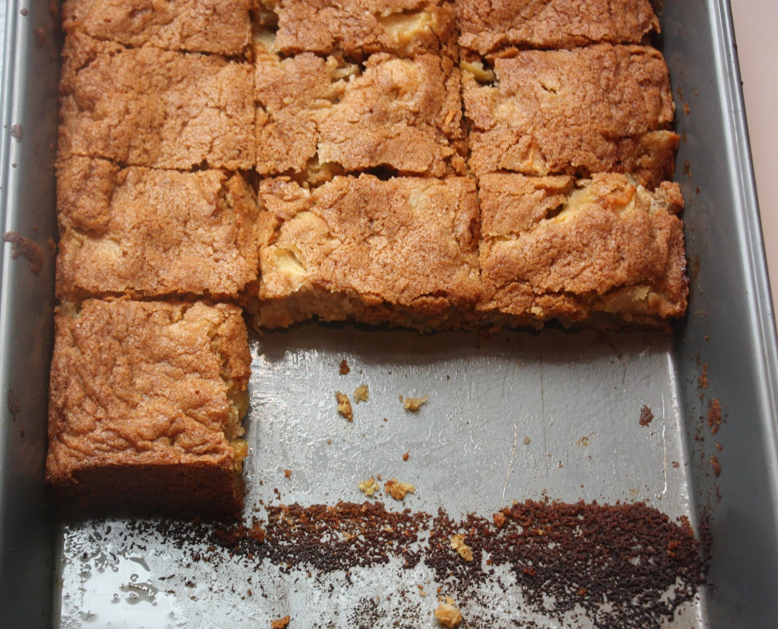 Cannella Vita: apple brownies