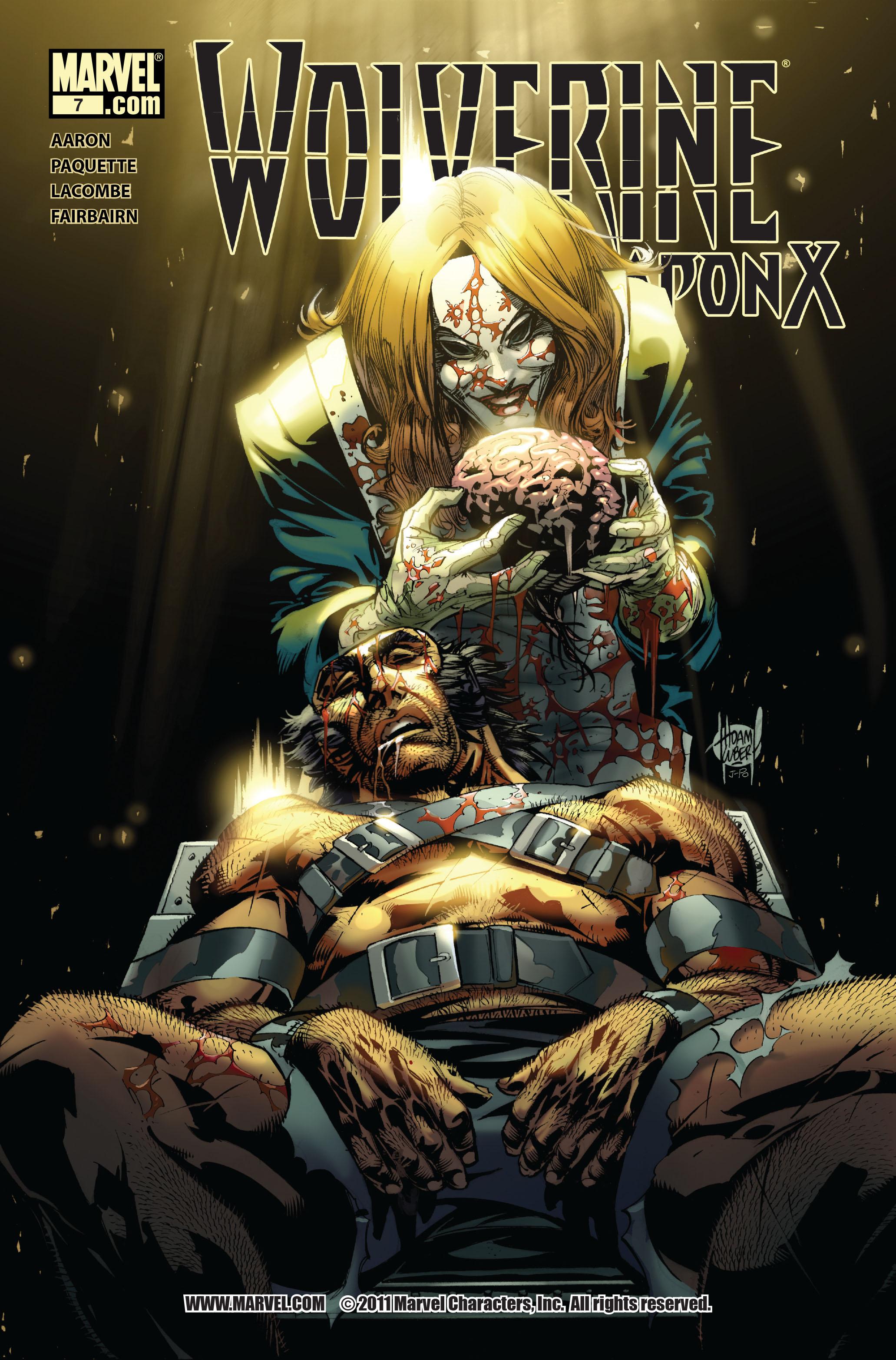 Wolverine: Weapon X #7 #10 - English 1