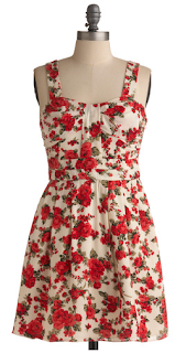 floral modcloth dress