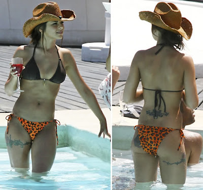 Hot girl Cheryl Cole in Bikini