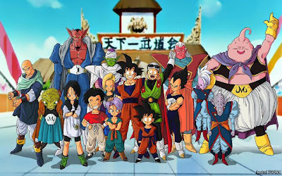 karakter dragon ball z, buu saga, dragon ball menembus batas