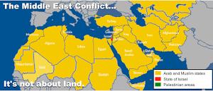 Israel é 0,5% do Médio Oriente