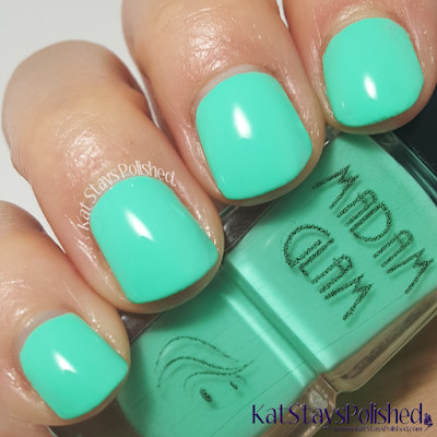 Madam Glam - Aqualicious | Kat Stays Polished