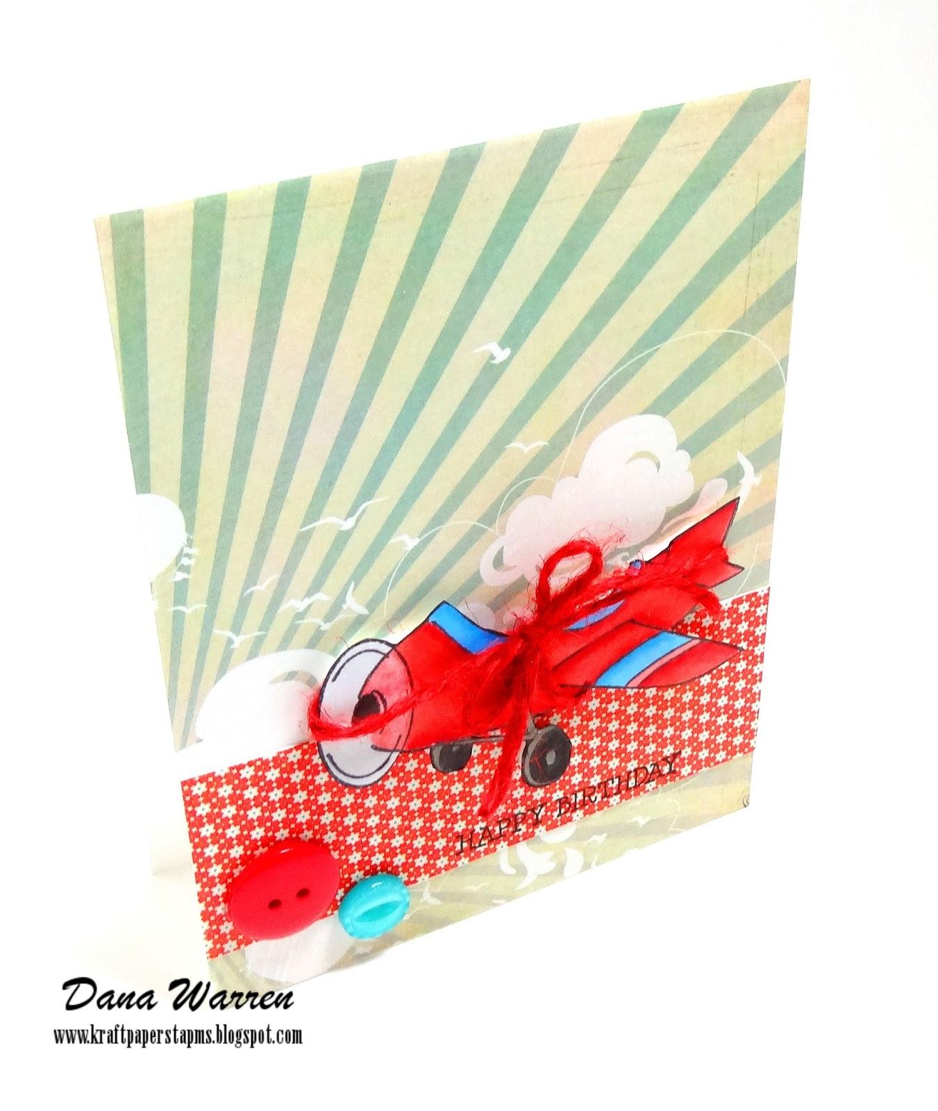 Dana Warren - Kraft Paper Stamps - Art Imressions
