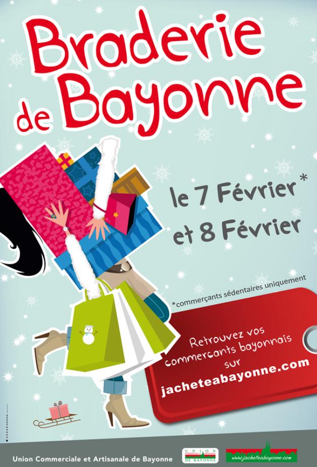 Braderie d'hiver de Bayonne 2014 pays basque
