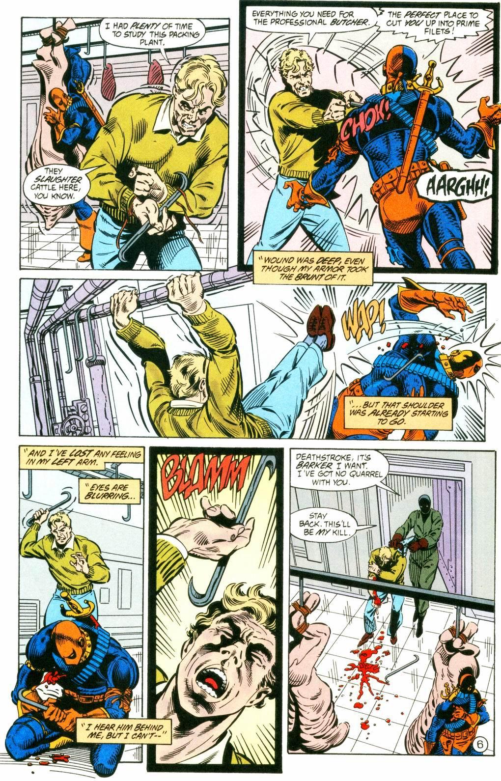 Deathstroke (1991) Issue #8 #13 - English 6
