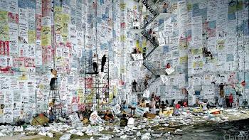 Un artista evoluciona a la par de China El artista pekinés Wang Qing
