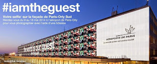 La campagne Selfies par Aéroports de Paris