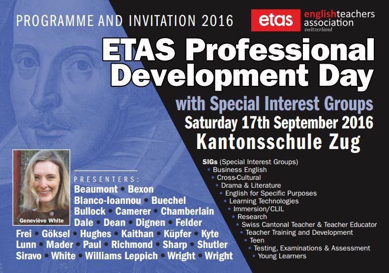 Englisch-Weiterbildungstag ETAS