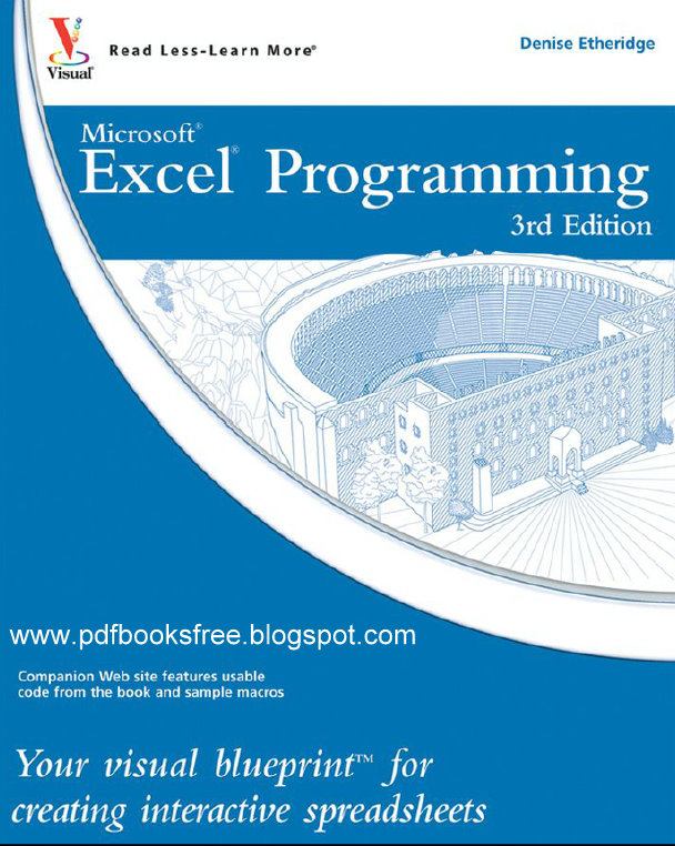 Microsoft excel programming tutorial free pdf books microsoft excel programming tutorial pdf free download malvernweather Image collections