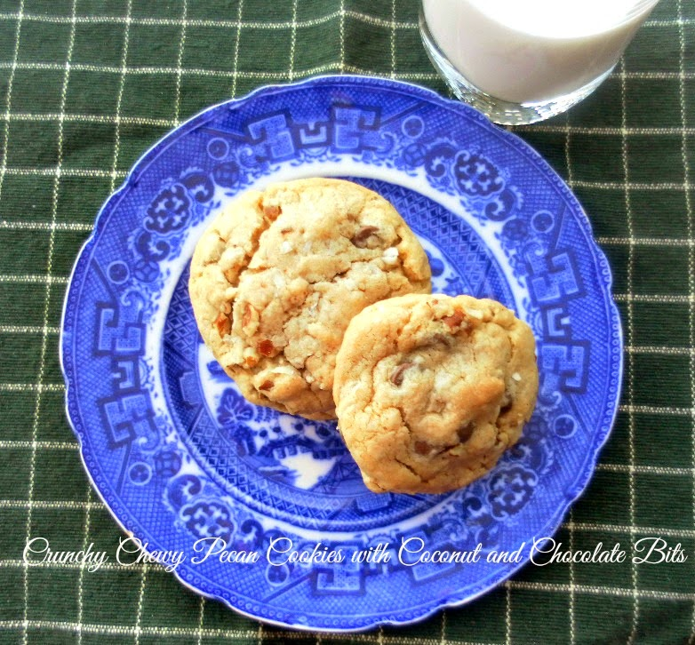 Cooking On A Budget: Crunchy Chewy Pecan Cookies with Coconut and ...