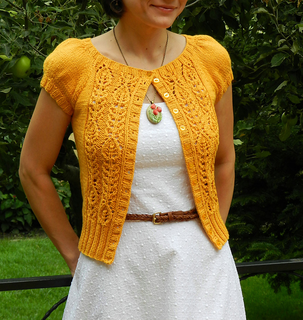 Knitting Pattern Summer Cardigan : Modification Monday: Peabody summer cardigan - Knitted Bliss