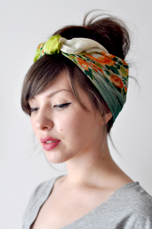 Appearances Matter: Simple Head Scarf Tutorial