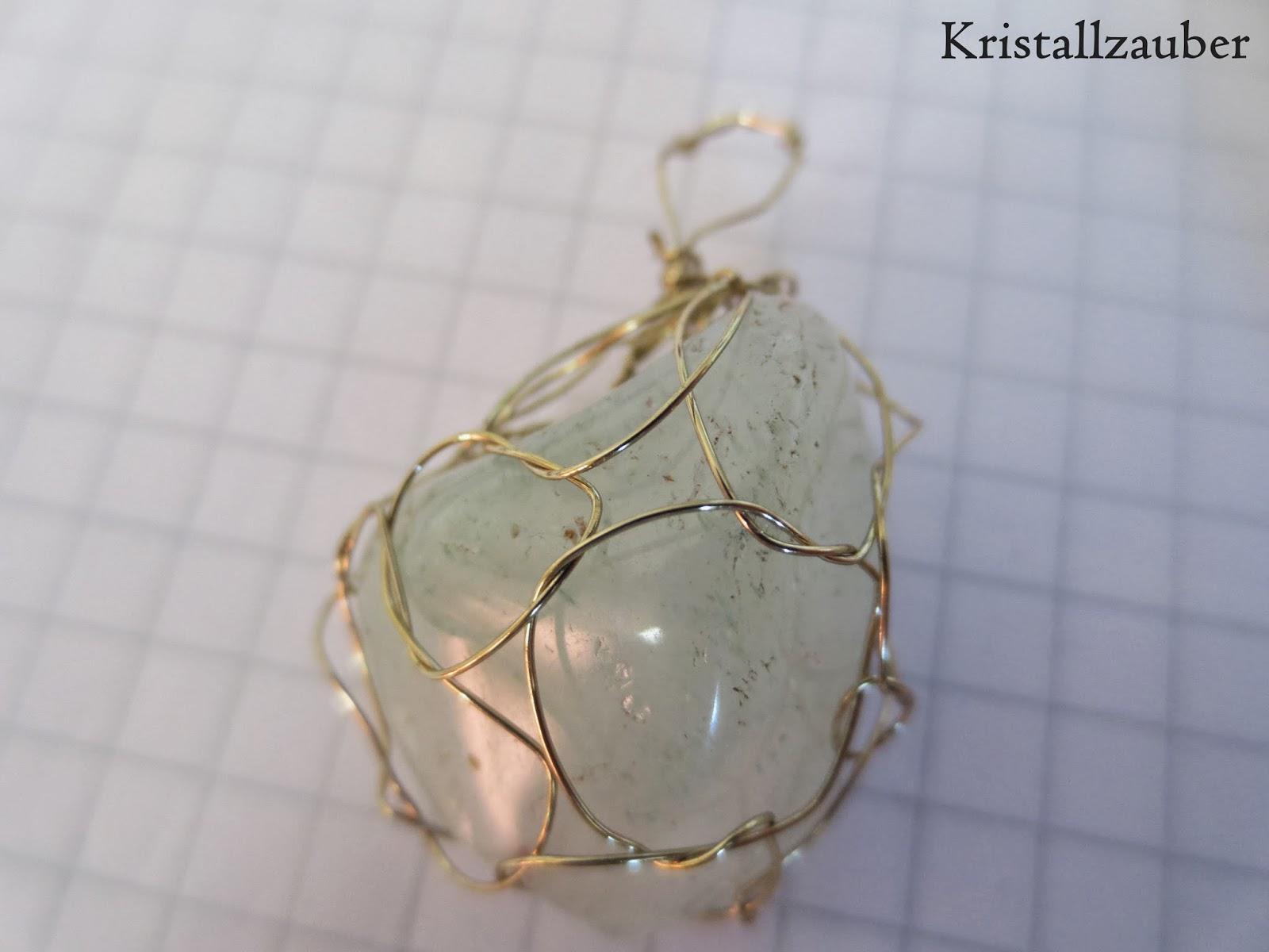 Kristallzauber: {DIY} Edelsteinkette ganz einfach selber machen