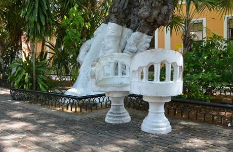 Plaza en Mérida, Yucatán