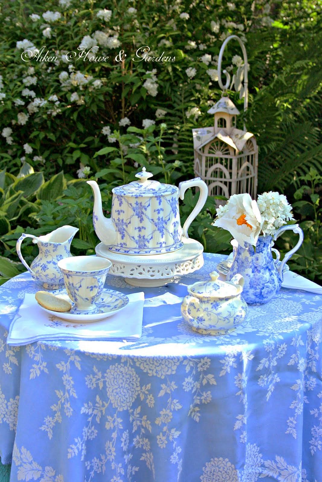 Aiken House Gardens Tea In The Garden