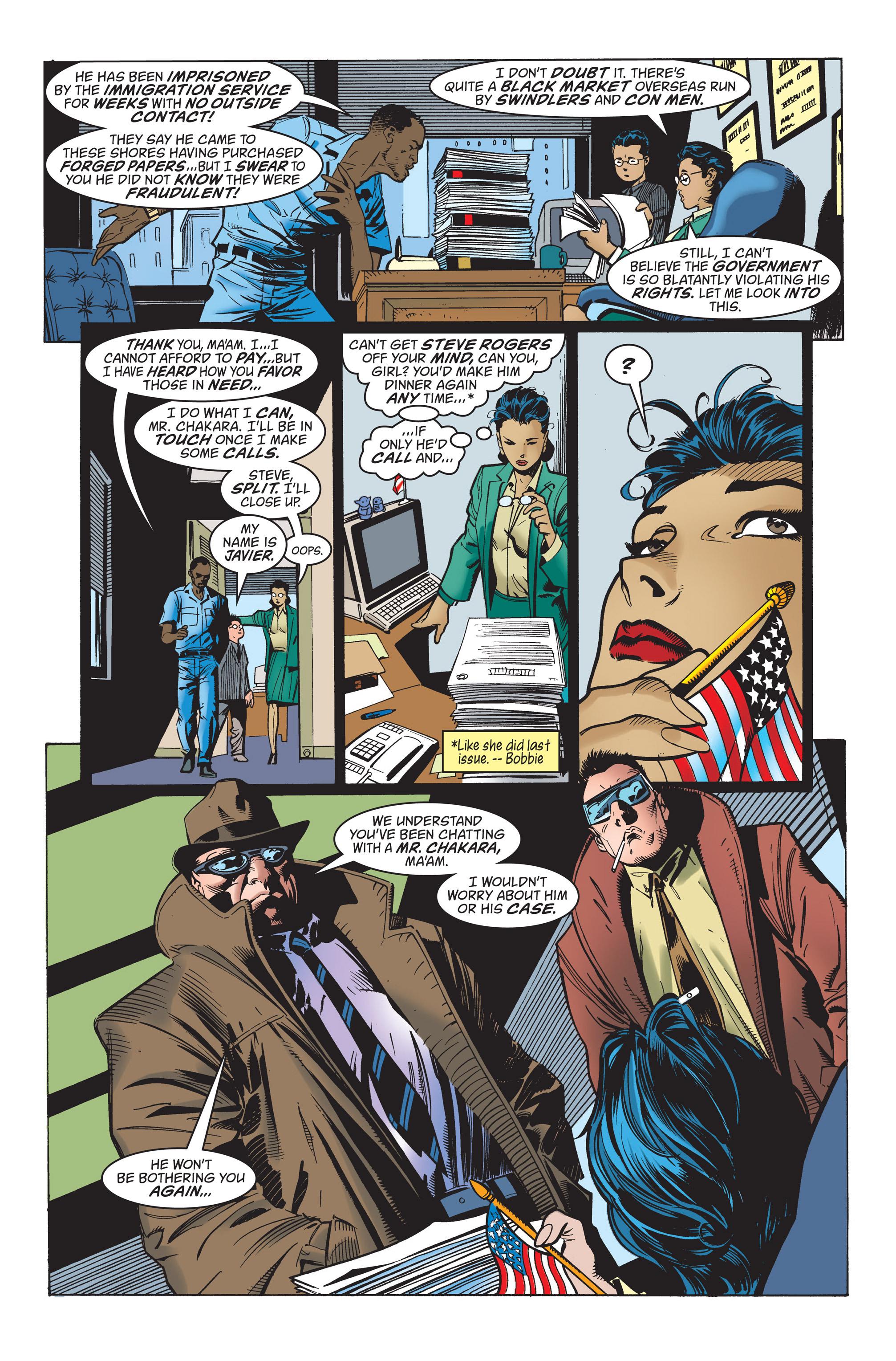 Captain America (1998) Issue #21 #27 - English 9
