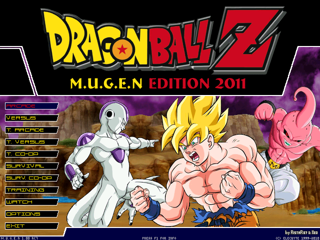 Dragon Ball Z M.U.G.E.N Edition PC game 2012
