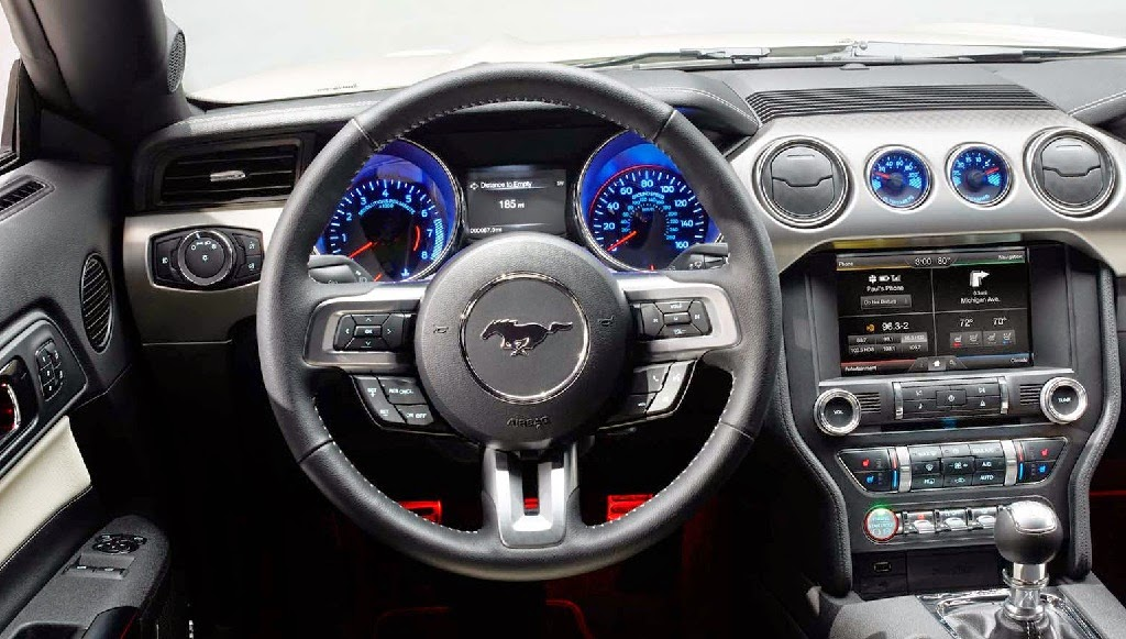 2015 Ford Mustang GT 50 Year Limited Edition interior