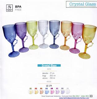 Info & Harga Twin Tulip Tulipware 2014 : Crystal Glass - Maestro