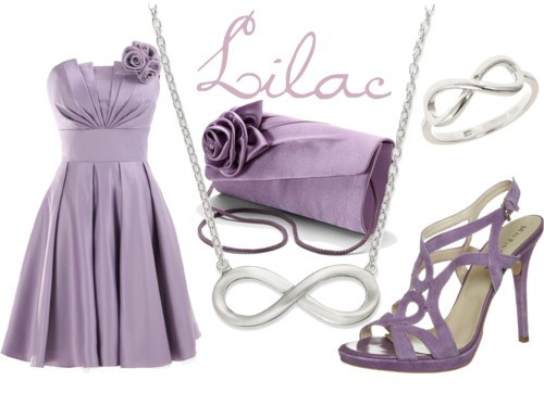 Pair It With Accessories Of The Same Hue But Perhaps Slightly Darker This Outfit Would Be Especially Perfect For A June Wedding When Lilac Is Blooming