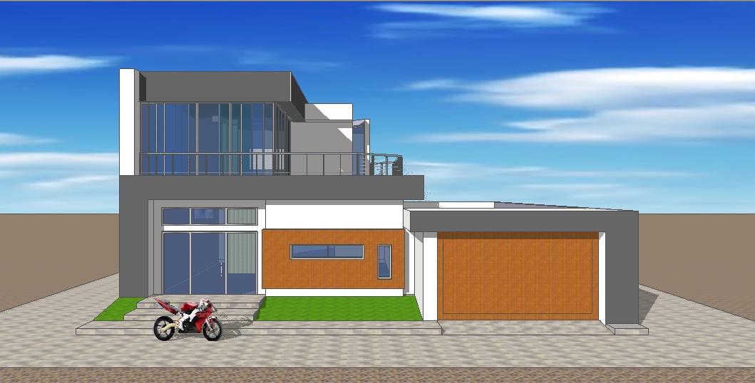 Fachadas y casas grandes dise os para fachadas de casas for Casas modernas y grandes