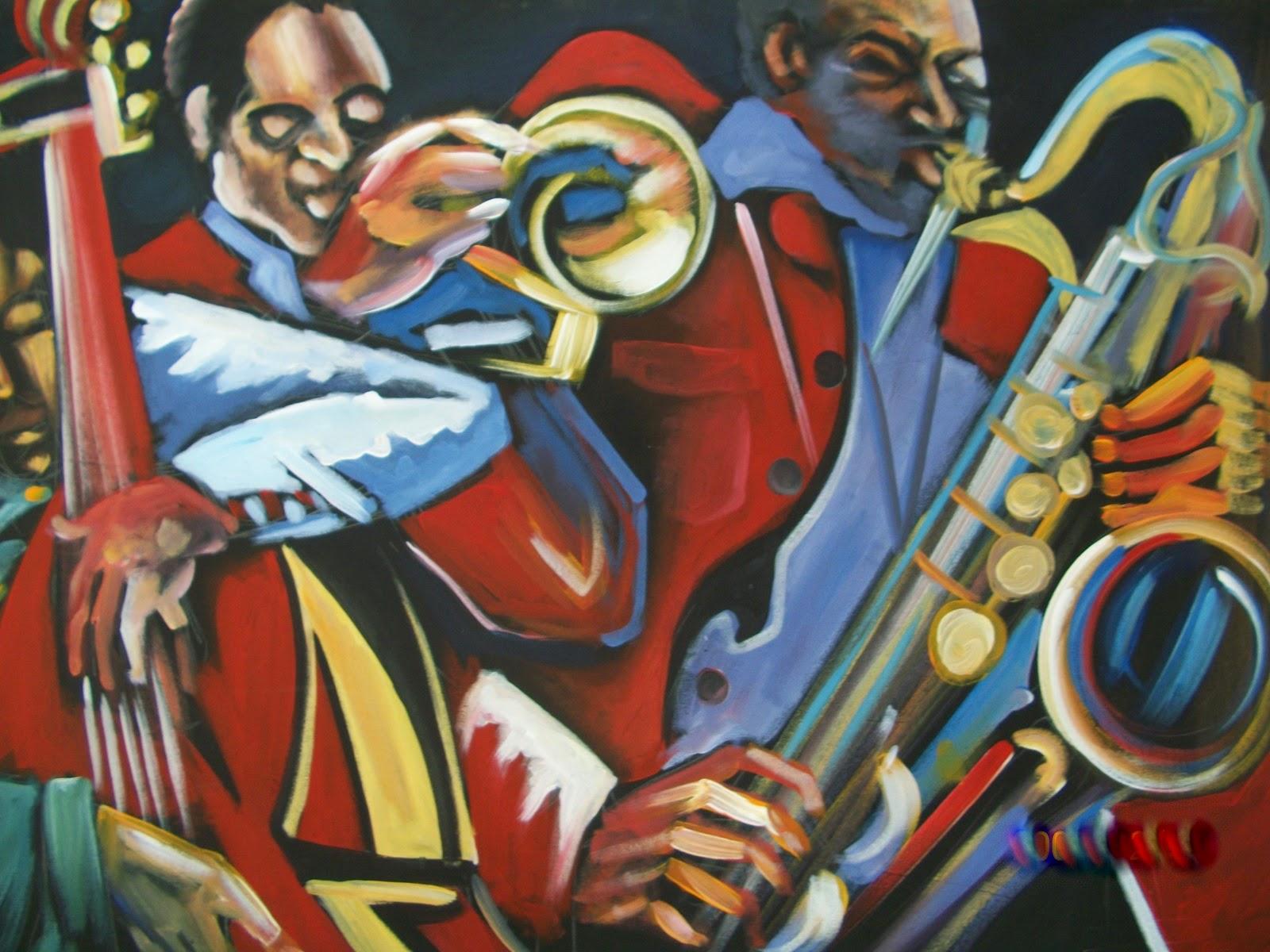 Haitianarts quadro Bonyé musica