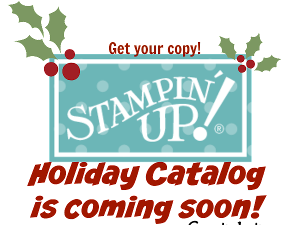 The Holiday Catalog Announcement & A Card!