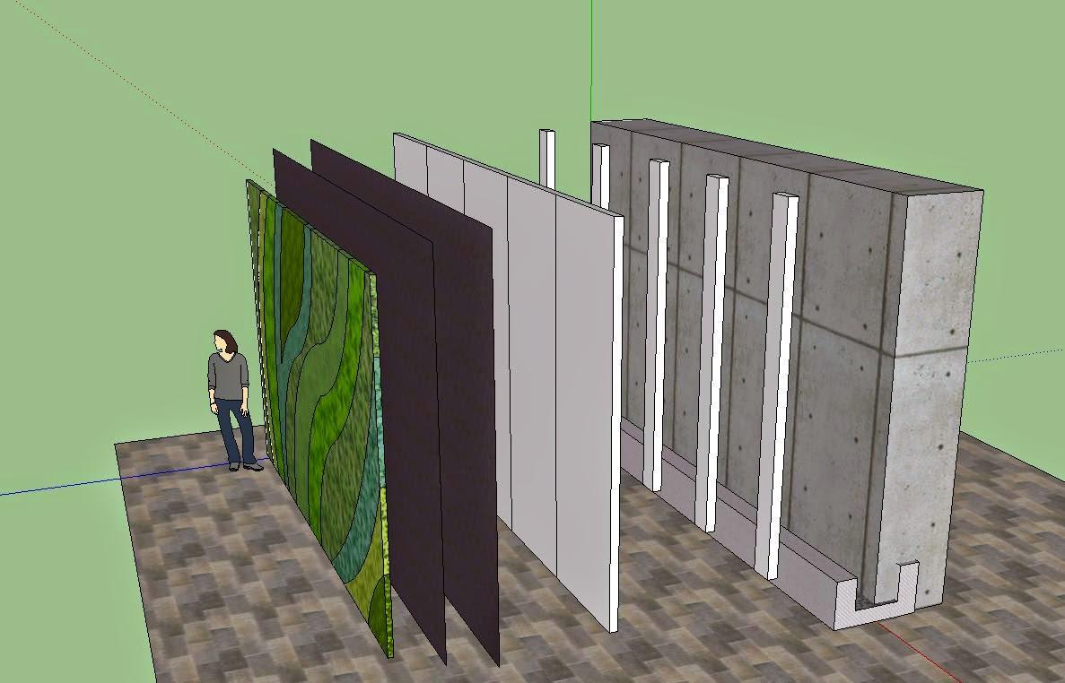 Reformas madrid jardines verticales - Estructura jardin vertical ...