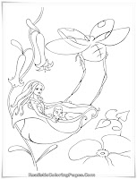 Realistic Coloring Pages Of Barbie Fairytopia