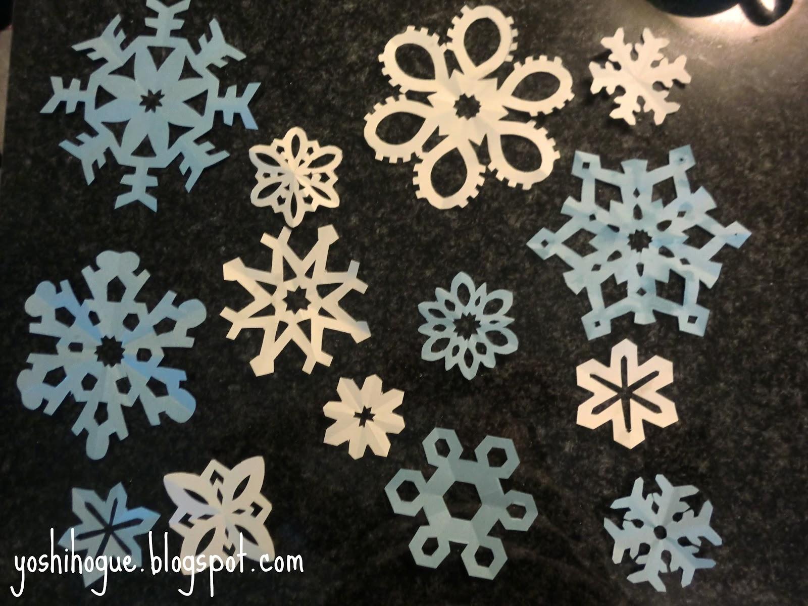 すべての折り紙 結晶 作り方 折り紙 : ... ★1ドルで雪の結晶作ってみた