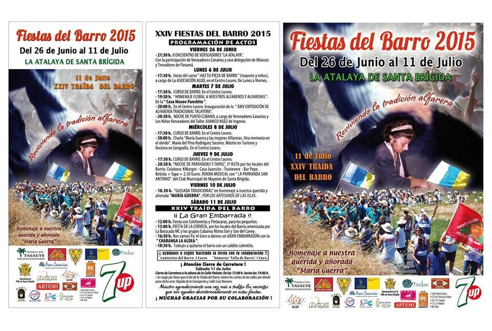 XXIV FIESTA DEL BARRO 2015