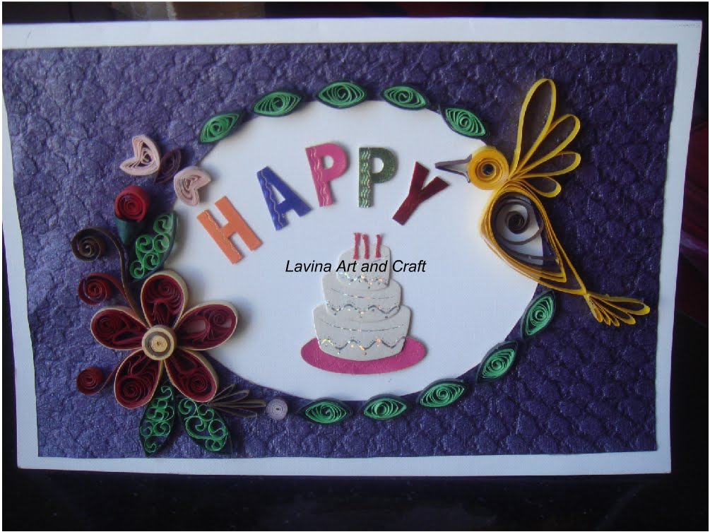 Life S Little Treasures Quilled Birthday Card