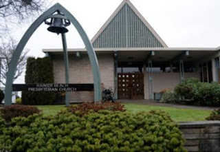 Rainier Beach Presbyterian Church, front entrance