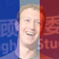 Cara Edit Foto Pray for Paris Perancis Bendera France Tembus Pandang di FB