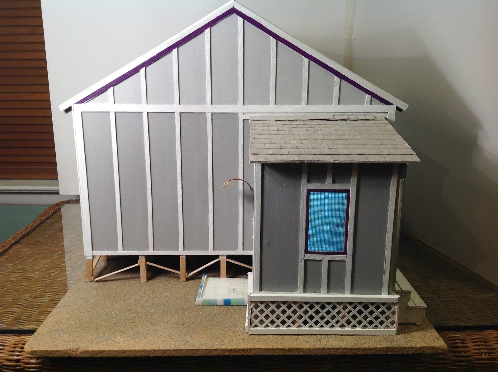 The Dollhouse Whisperer Lasertech Designs Beach Cottage Dollhouse