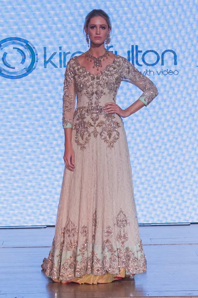 Erum Khan Formal Dresses At Pakistan Fashion Week 8 London 2015
