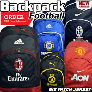 Tas Ransel / Backpack Club Sepak Bola