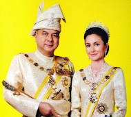Sultan dan Raja Permaisuri Perak Darul Ridzuan.