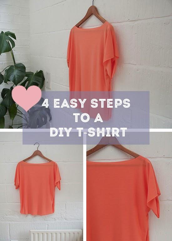 Diy shirts cutting step by step