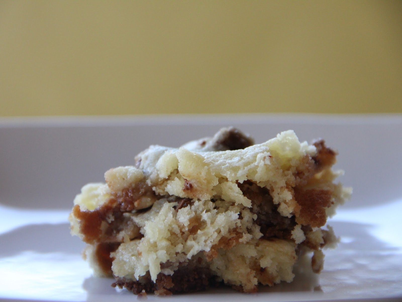 Rolo Bars Made With Cake Mix