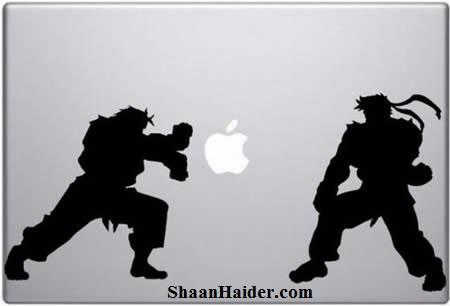 Street Fighters MacBook Stickers for Apple Lovers