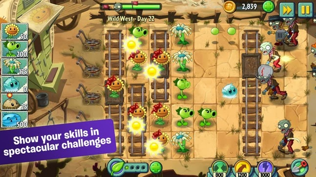 Plants vs. Zombies™ 2 android game Download