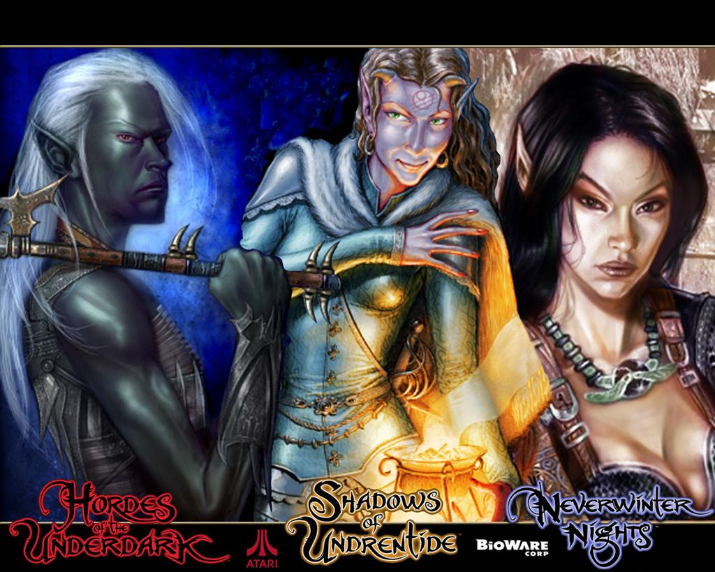 Neverwinter Nights HD & Widescreen Wallpaper 0.664367782741797