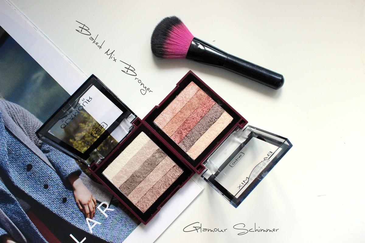 Baked Mix Bronzer, Glamour Schimmer od Wibo
