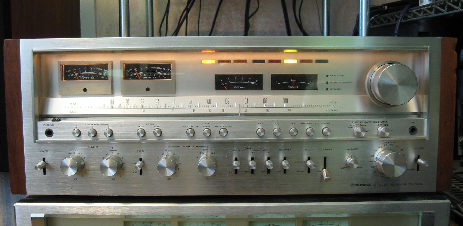 Matt S Vintage Audio Repair Pioneer Sx 1980 Score And