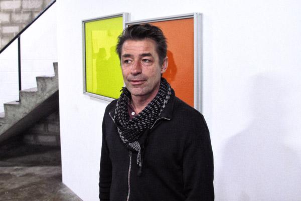 Artist portrait, Paul Raguenes at Factory 49